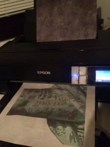 Liberty Marches printing